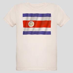 Pure Flag Costa Rica Organic Kids T-Shirt