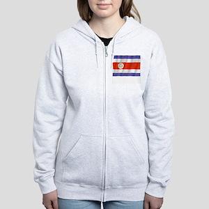 Pure Flag Costa Rica Women's Zip Hoodie