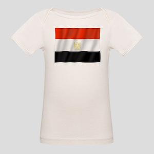 Pure Flag of Egypt Organic Baby T-Shirt