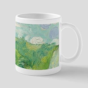 Van Gogh Green Wheat Field Mug