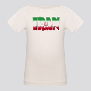 Word Art of Iran Organic Baby T-Shirt