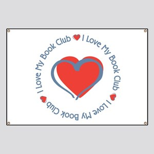 I Love My Book Club Banner