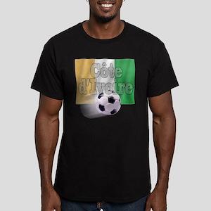 Soccer Flag Cote d'Ivoire (B) Men's Fitted T-Shirt