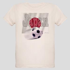 Soccer Flag Japan (B) Organic Kids T-Shirt