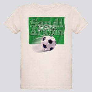 Soccer Flag Saudi Arabia (B) Organic Kids T-Shirt