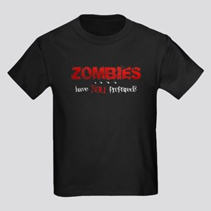 ZOMBIES: have you prepared? Kids Dark T-Shirt