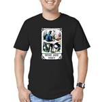 Who Are You Men's Fitted T-Shirt (dark)