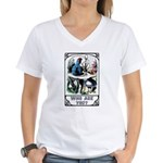 Who Are You Women's V-Neck T-Shirt