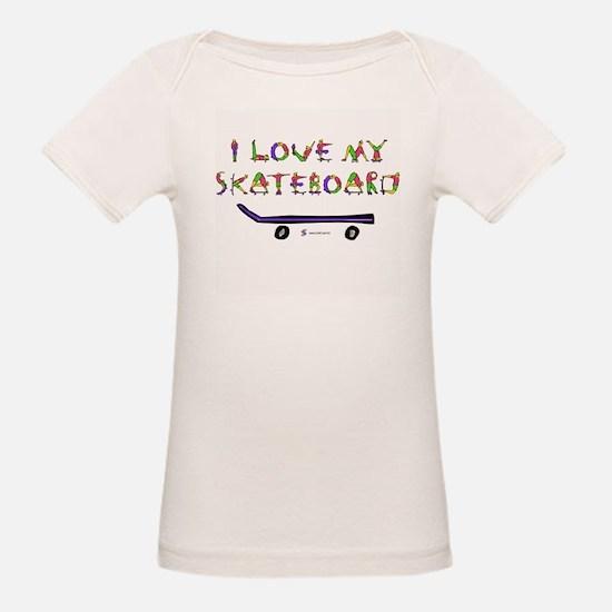 I Love My Skateboard Tee