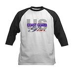 US Coast Guard Son Kids Baseball Jersey