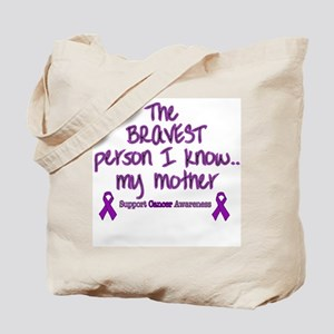 Purple Mother Brave Tote Bag