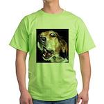 Crazy beagle Green T-Shirt