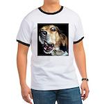 Crazy beagle Ringer T