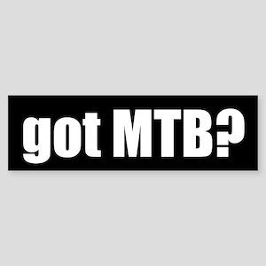 got MTB? Bumper Sticker