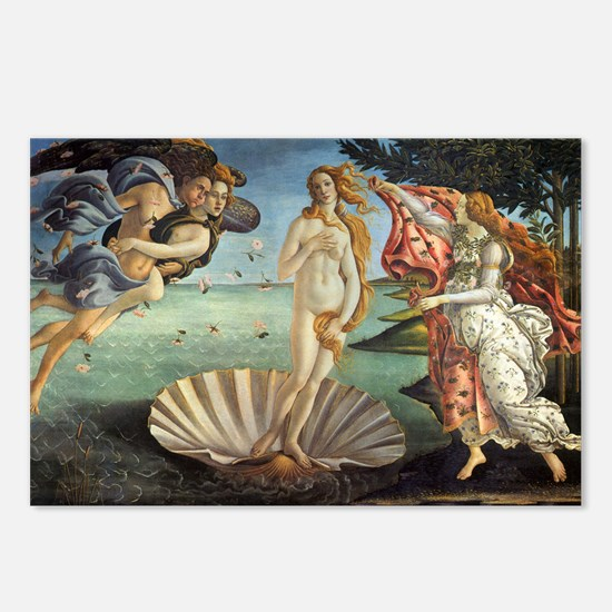 Birth of Venus by Botticelli Postcards (Package of