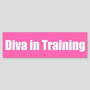 Diva in Training Bumper Sticker