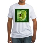 Embrace your world, save the Fitted T-Shirt