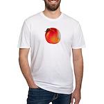 Atlanta Peach Fitted T-Shirt