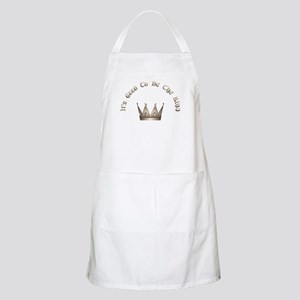 It's Good to be the King BBQ Apron