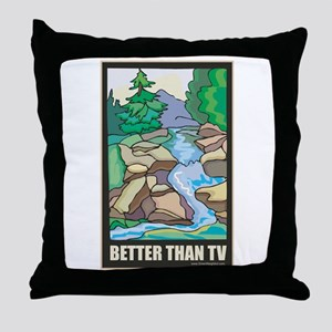 Outdoors Nature Throw Pillow