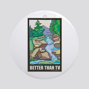 Outdoors Nature Ornament (Round)