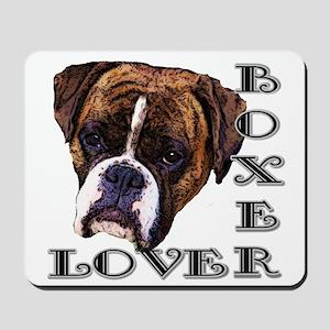 Boxer Lover Mousepad