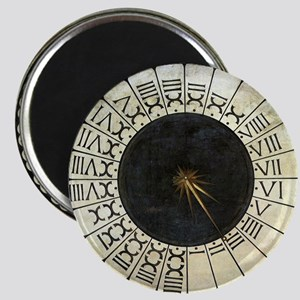 """Clock in the Duomo by Uccello 2.25"""" Magnet (10 pac"""