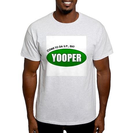 Generic Yooper Ash Grey T-Shirt