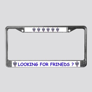 SWINGERS SYMBOL License Plate Frame