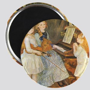 "Renoir Daughters of Catulle Mendes 2.25"" Magnet (1"