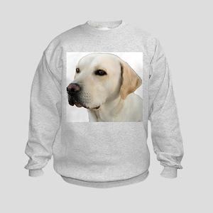 Yellow Lab Head Sweatshirt