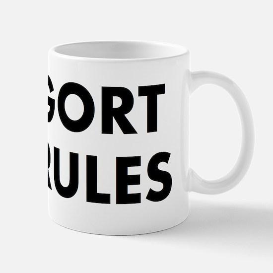 Gort rules Mug
