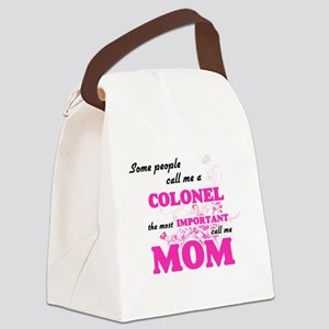 Some call me a Colonel, the most Canvas Lunch Bag