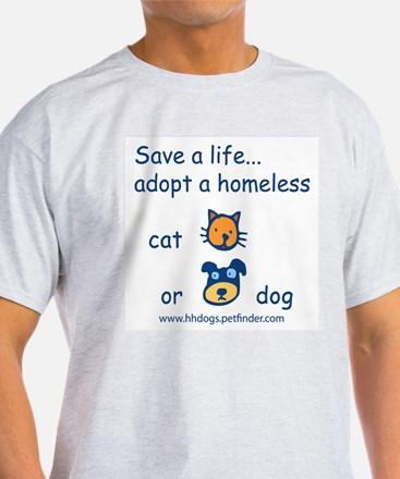 Save a life adopt a pet T-Shirt