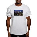 Atlanta City Skyline Ash Grey T-Shirt