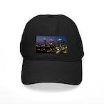 Atlanta City Skyline Black Cap