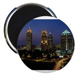 Atlanta City Skyline Magnet