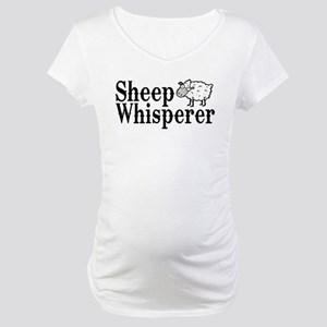 Sheep Whisperer Maternity T-Shirt