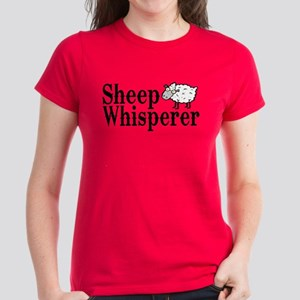 Sheep Whisperer Women's Dark T-Shirt