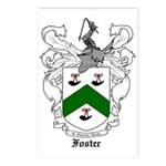Foster Family Crest Postcards (Package of 8)