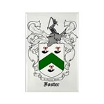 Foster Family Crest Rectangle Magnet