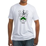 Foster Family Crest Fitted T-Shirt