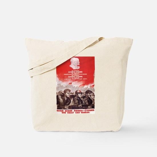 Wisdom of Lenin and Stalin Tote Bag