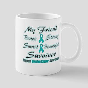 Ovarian Friend Words Mug