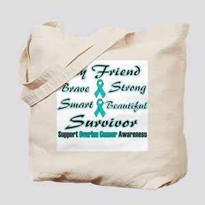 Ovarian Friend Words Tote Bag