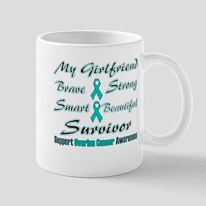 Ovarian Girlfriend Words Mug