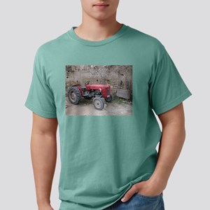Red Tractor and Dirt Wall T-Shirt
