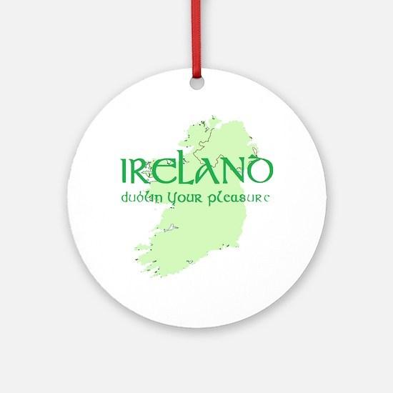 Dublin Ornament (Round)