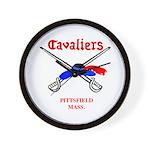 Pittsfield Cavaliers Wall Clock