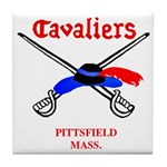 Pittsfield Cavaliers Tile Coaster